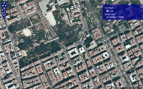 Esempio di pubblicazione servizi WMS S.I.T.R. Sicilia