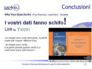 GIS4EU WP9-2 Genova Conclusioni4