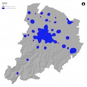 Target delle aree a elevata densità edilizia