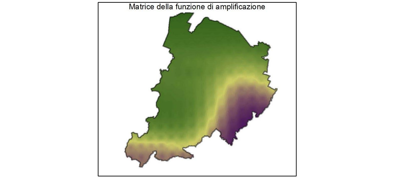 Matrice della funzione di amplificazione