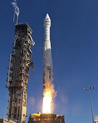 foto lancio Landsat 8