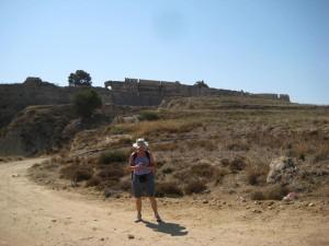 Fortezza di Antimachia a Karadameno, Isola di Kos. Geopaparazzi su HTC Wildfire.