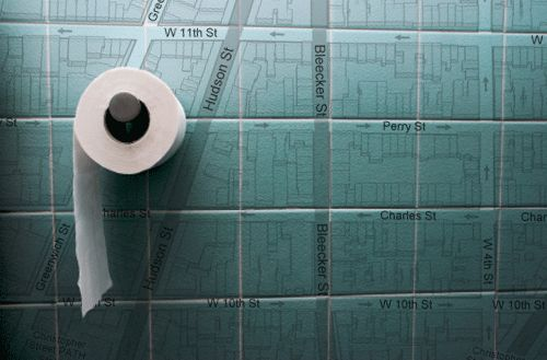 bathroom maps