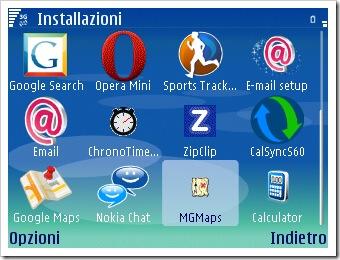 L'icona di Mobile GMaps