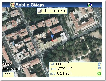 Mobile GMaps con una base da Live Maps
